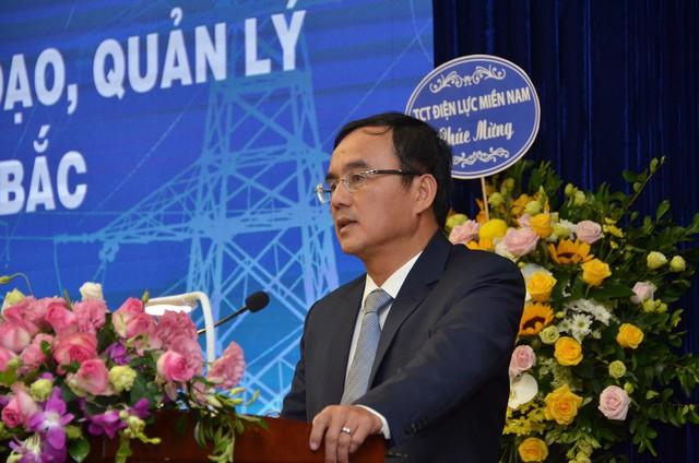 Ông Dương Quang Thành - Chủ tịch HĐTV EVN phát biểu tại buổi lễ