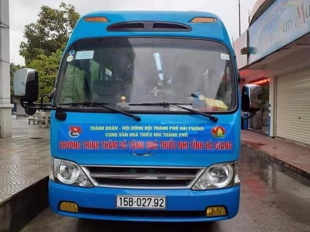 Xe chở đoàn cán bộ Cung Thiếu nhi Hải Phòng và giáo viên gặp nạn tại Tuyên Quang