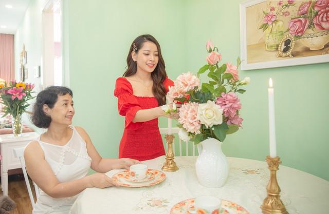 Căn hộ màu hồng đậm chất nữ tính khiến bao người mơ mộng của Chi Pu  - Ảnh 6.