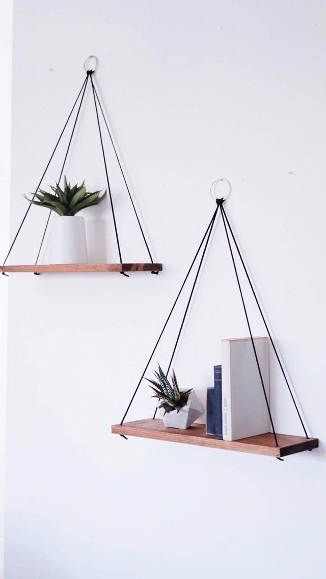 Những thiết kế kệ treo tường để đồ vật nhỏ xinh dành riêng cho những ai thích phong cách vintage - Ảnh 1.