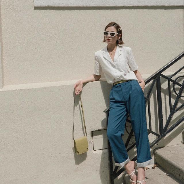 Để style đi làm không nghiêm túc quá hóa già nua và nhàm chán, nàng công sở chỉ cần áp dụng đúng 4 bí kíp - Ảnh 14.