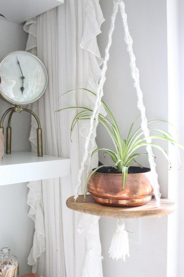Những thiết kế kệ treo tường để đồ vật nhỏ xinh dành riêng cho những ai thích phong cách vintage - Ảnh 5.