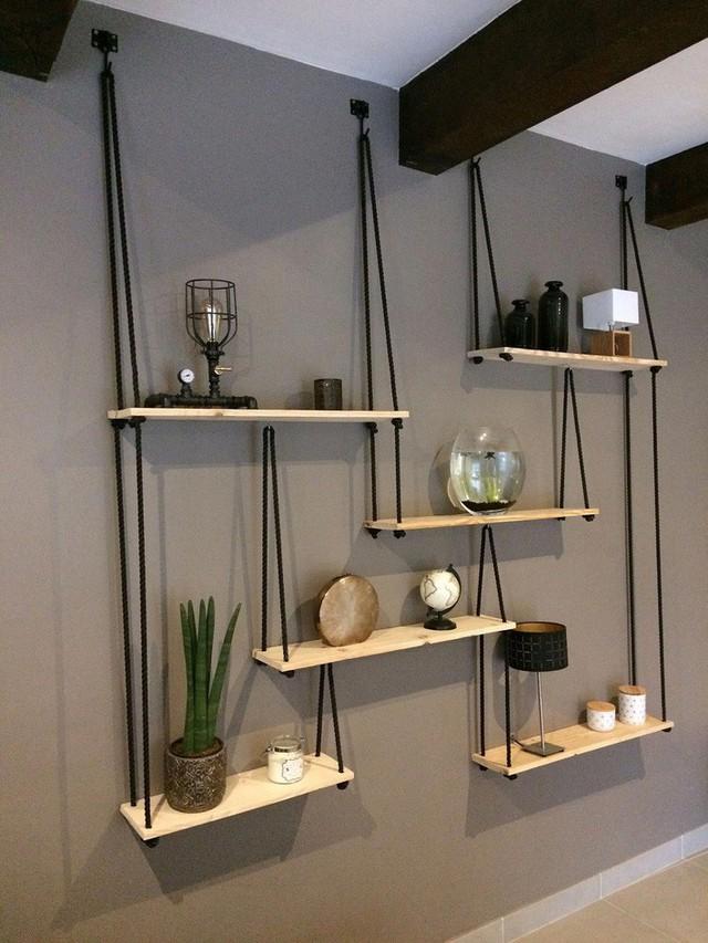 Những thiết kế kệ treo tường để đồ vật nhỏ xinh dành riêng cho những ai thích phong cách vintage - Ảnh 10.