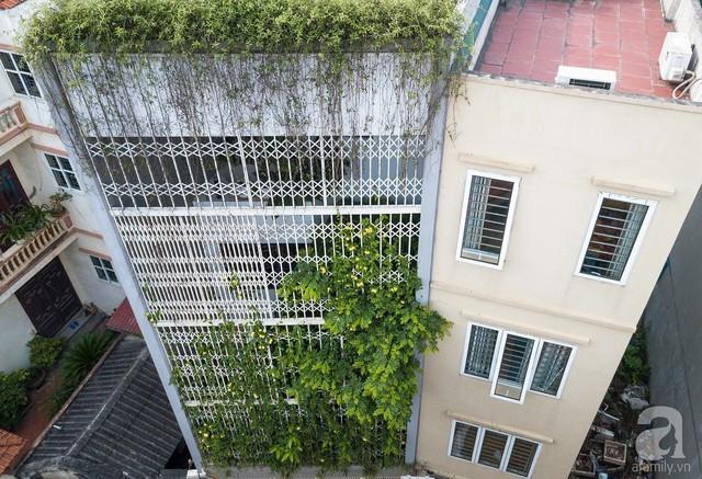Ngôi nhà cửa xếp ở Hà Nội ai đi qua cũng phải dừng lại ngắm nhìn - Ảnh 2.