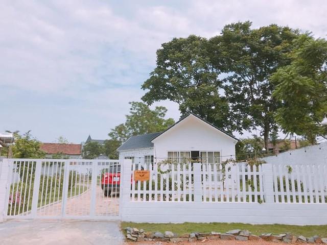 Ngôi nhà vườn ở Tam Đảo (Vĩnh Phúc) được Duy Nam ấp ủ xây dựng từ thuở nhỏ nay đã thành hiện thực.