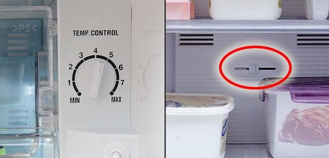 Điều chỉnh nhiệt độ không đúng khiến tủ lạnh không đông đá.