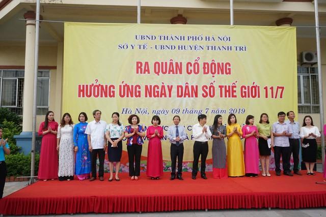 Hà Nội mít tinh kỷ niệm ngày Dân số thế giới 11/7 - Ảnh 2.