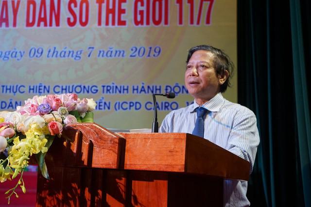 Hà Nội mít tinh kỷ niệm ngày Dân số thế giới 11/7 - Ảnh 1.