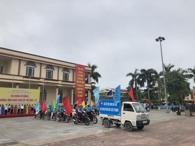 Hà Nội mít tinh kỷ niệm ngày Dân số thế giới 11/7 - Ảnh 3.