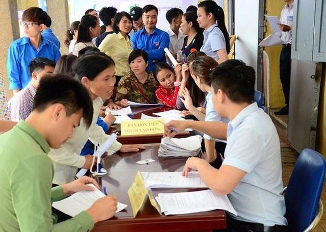 6 tháng đầu năm 2019, Hà Nội giải quyết việc làm cho 90,5 nghìn lao động. Ảnh: TL