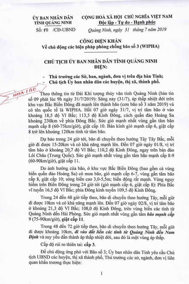 Bão số 3 cách Quảng Ninh, Hải Phòng 360 km - Ảnh 2.