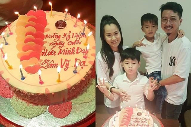 Cuộc sống của gia đình Lâm Vỹ Dạ - Hứa Minh Đạt sau 9 năm kết hôn - Ảnh 1.