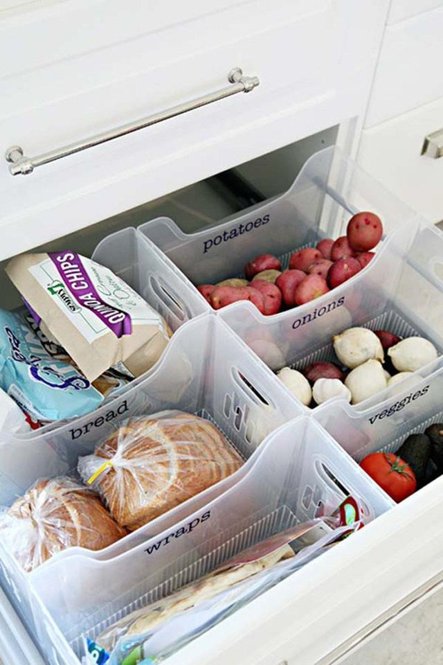 14 cách thông minh để dễ dàng sắp xếp tủ bếp gọn gàng, đẹp mắt - Ảnh 4.