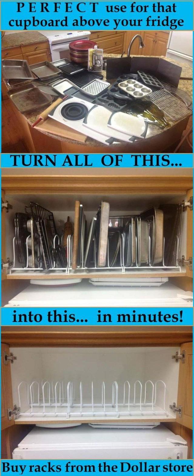 14 cách thông minh để dễ dàng sắp xếp tủ bếp gọn gàng, đẹp mắt - Ảnh 5.