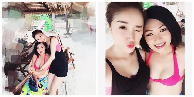 Những hình ảnh hiếm hoi ca sĩ Phương Thanh diện bikini  - Ảnh 4.