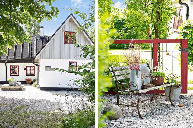 Ngôi nhà vườn đậm chất Scandinavia khiến nhiều người phải kinh ngạc vì vô cùng bắt mắt  - Ảnh 18.