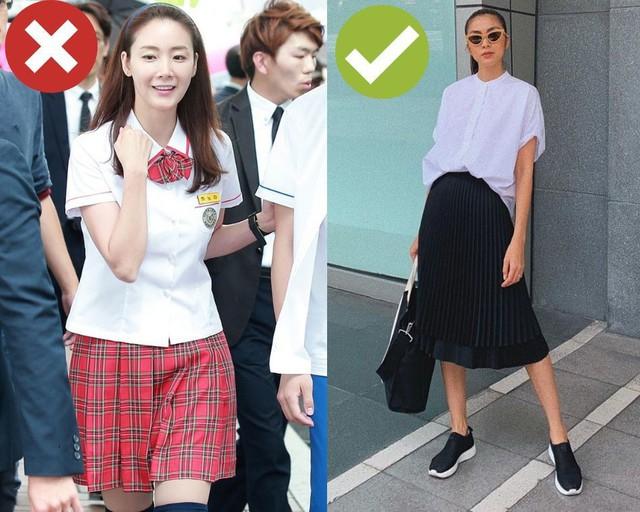 Đây là combo váy áo giúp chị em trẻ ra 10 tuổi, nhưng rất dễ lố nếu không học theo Hà Tăng và Lan Khuê - Ảnh 4.