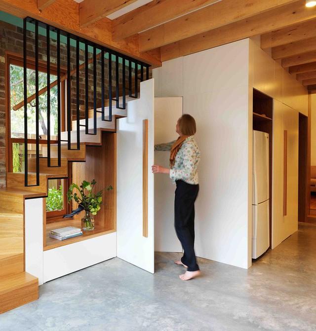 Ngôi nhà 2 tầng mang tới cảm giác thông minh, phong cách và thân thiện với môi trường. - Ảnh 6.