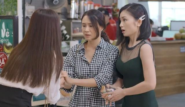 Hoa hồng trên ngực trái tập 3, Thái bắt vợ xin lỗi tiểu tam bất kể đúng sai - Ảnh 2.