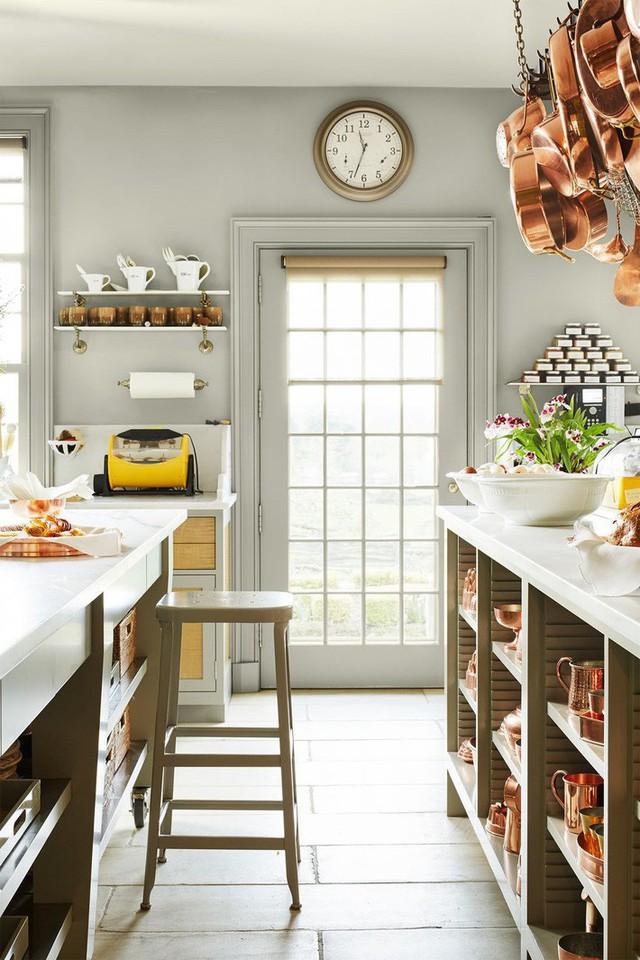 10 gam màu giúp căn bếp nhỏ trở thành điểm nhấn khó quên cho ngôi nhà  - Ảnh 1.