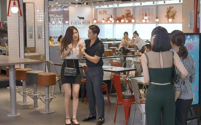 Hoa hồng trên ngực trái tập 3, Thái bắt vợ xin lỗi tiểu tam bất kể đúng sai - Ảnh 3.