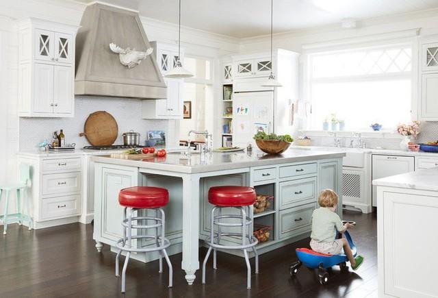 10 gam màu giúp căn bếp nhỏ trở thành điểm nhấn khó quên cho ngôi nhà  - Ảnh 4.