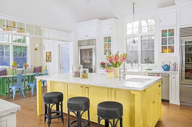 10 gam màu giúp căn bếp nhỏ trở thành điểm nhấn khó quên cho ngôi nhà  - Ảnh 6.