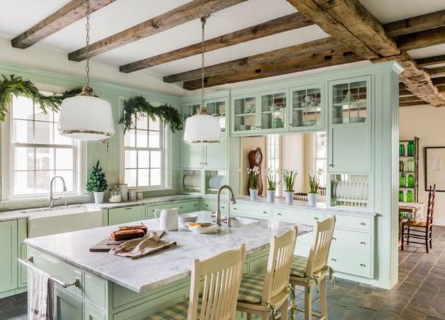 10 gam màu giúp căn bếp nhỏ trở thành điểm nhấn khó quên cho ngôi nhà  - Ảnh 9.