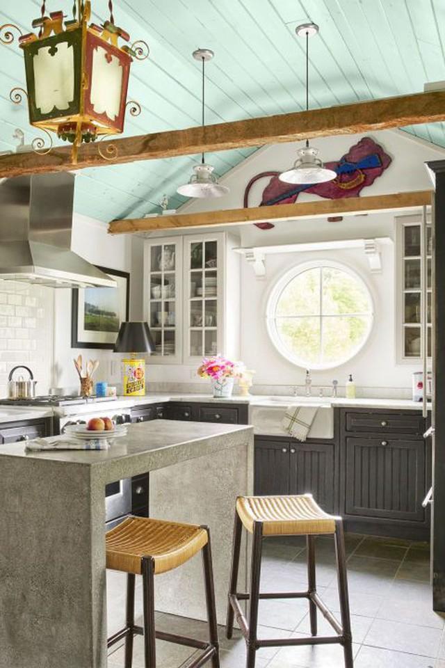 10 gam màu giúp căn bếp nhỏ trở thành điểm nhấn khó quên cho ngôi nhà  - Ảnh 10.