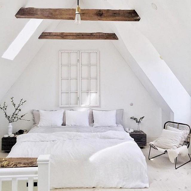 Phòng ngủ gác mái đẹp lịm tim, tại sao không thử? - Ảnh 11.