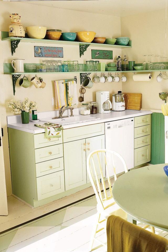 13 thiết kế bếp nhỏ với phong cách Retro khiến bạn không thể không ngắm nhìn - Ảnh 12.