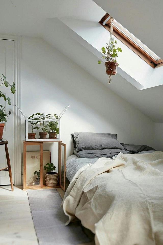 Phòng ngủ gác mái đẹp lịm tim, tại sao không thử? - Ảnh 12.