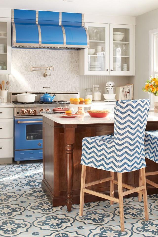 13 thiết kế bếp nhỏ với phong cách Retro khiến bạn không thể không ngắm nhìn - Ảnh 13.