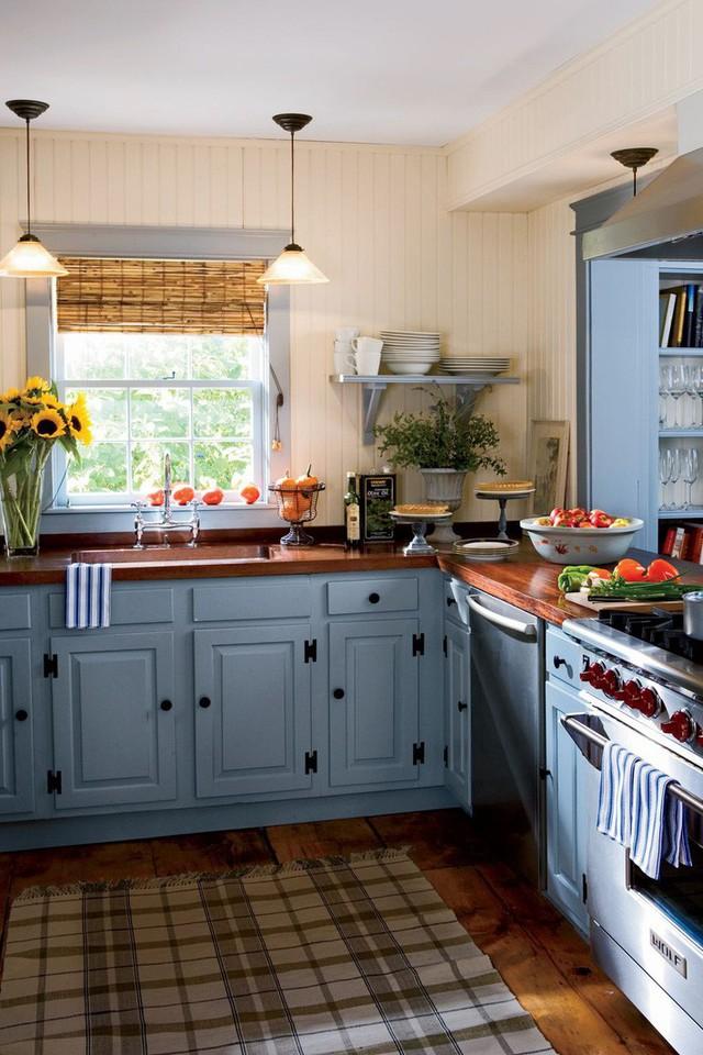 13 thiết kế bếp nhỏ với phong cách Retro khiến bạn không thể không ngắm nhìn - Ảnh 4.