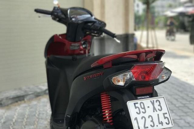 Loạt xe tay ga Honda Vison giá trăm triệu gây sốt - Ảnh 5.