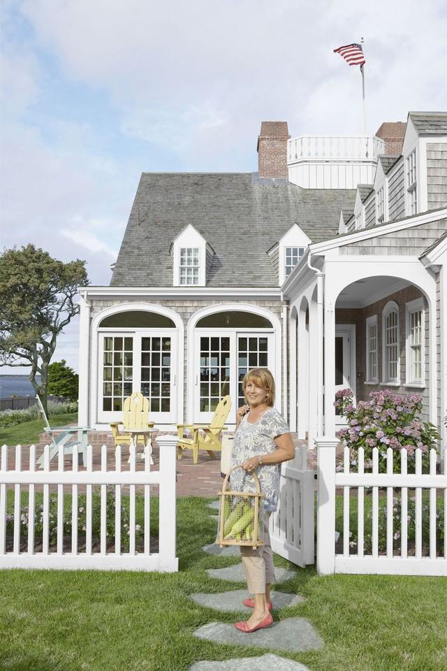 10 ý tưởng tạo hàng rào màu trắng lãng mạn cho ngôi nhà thêm ngọt ngào - Ảnh 5.