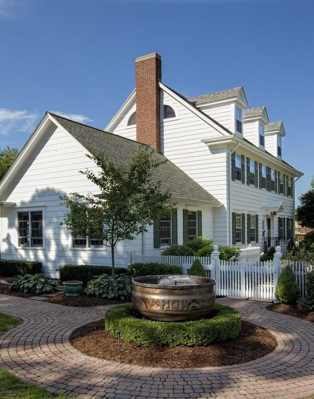 10 ý tưởng tạo hàng rào màu trắng lãng mạn cho ngôi nhà thêm ngọt ngào - Ảnh 6.