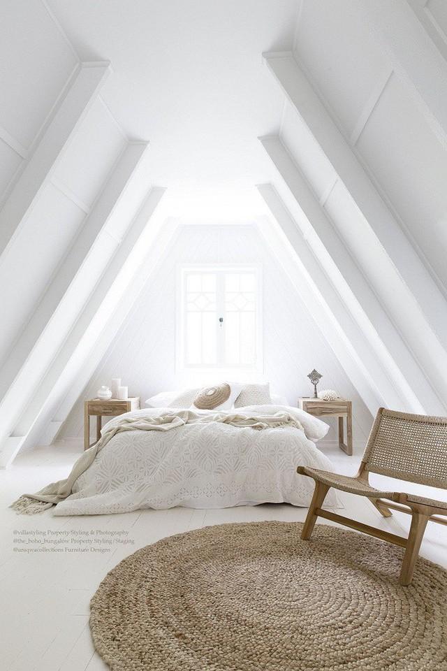 Phòng ngủ gác mái đẹp lịm tim, tại sao không thử? - Ảnh 6.
