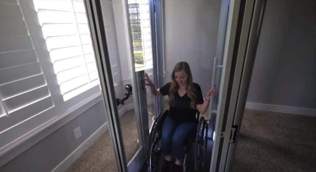 Chàng trai tự lắp thang máy trong nhà vì bạn gái phải di chuyển bằng xe lăn, tình yêu đích thực là đây! - Ảnh 7.