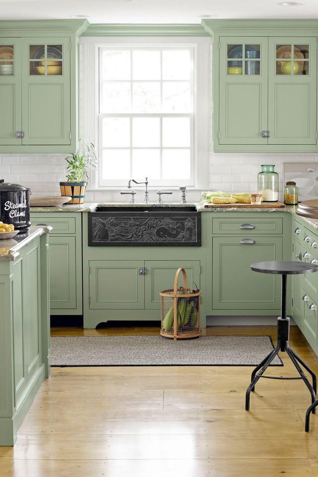 13 thiết kế bếp nhỏ với phong cách Retro khiến bạn không thể không ngắm nhìn - Ảnh 7.