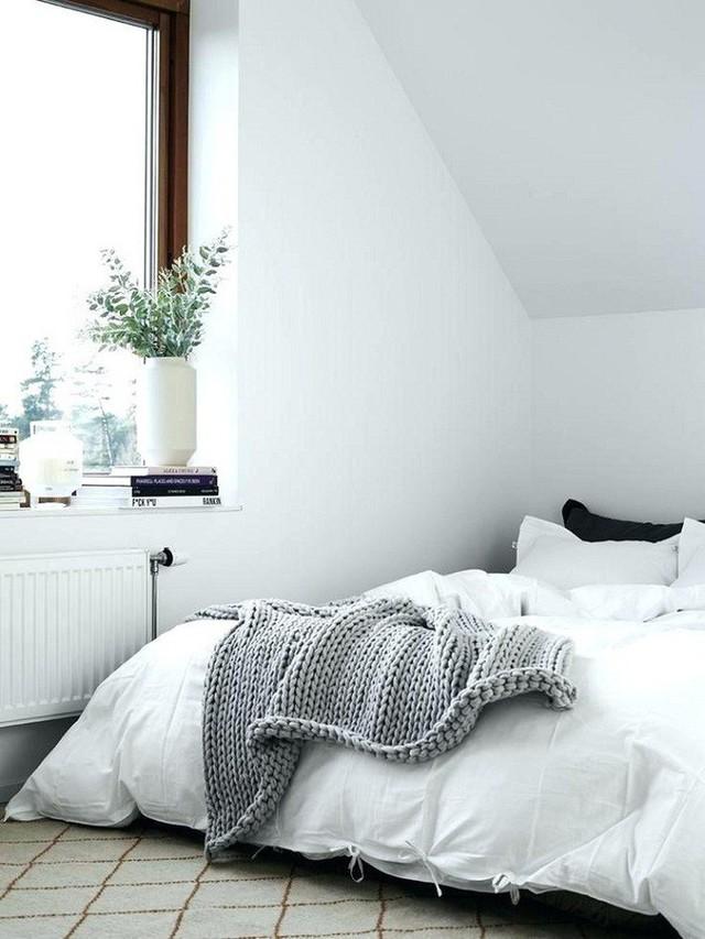 Phòng ngủ gác mái đẹp lịm tim, tại sao không thử? - Ảnh 9.