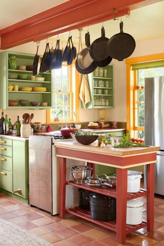 13 thiết kế bếp nhỏ với phong cách Retro khiến bạn không thể không ngắm nhìn - Ảnh 10.