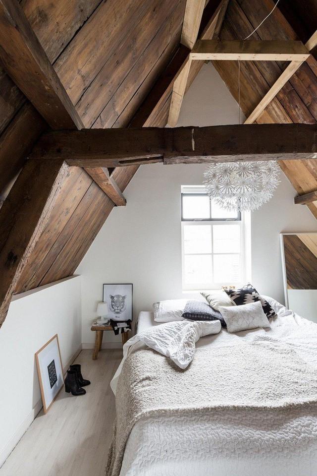 Phòng ngủ gác mái đẹp lịm tim, tại sao không thử? - Ảnh 10.