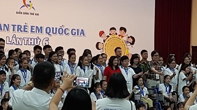 Diễn đàn trẻ em Quốc gia lần thứ 6: Gấp rút cho Phiên thảo luận đối thoại đặc biệt với lãnh đạo Nhà nước - Ảnh 1.