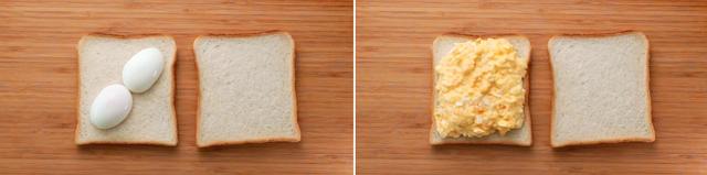 Bữa sáng ngon lành với bánh mì sandwich trứng kiểu mới - Ảnh 2.