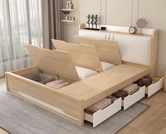Thiết kế căn hộ 54m² 2 phòng ngủ đẹp hiện đại với tổng chi phí chưa đến 180 triệu đồng - Ảnh 11.