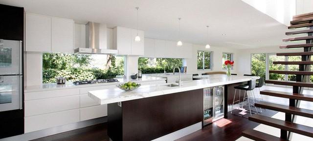 Muốn nhà bếp vừa đẹp vừa sang thì chọn ngay chất liệu đá cẩm thạch - Ảnh 11.