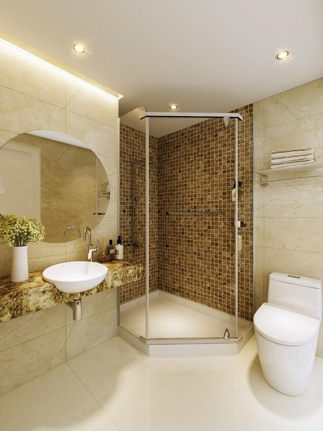 Thiết kế căn hộ 54m² 2 phòng ngủ đẹp hiện đại với tổng chi phí chưa đến 180 triệu đồng - Ảnh 3.