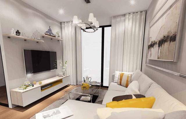 Thiết kế căn hộ 54m² 2 phòng ngủ đẹp hiện đại với tổng chi phí chưa đến 180 triệu đồng - Ảnh 6.
