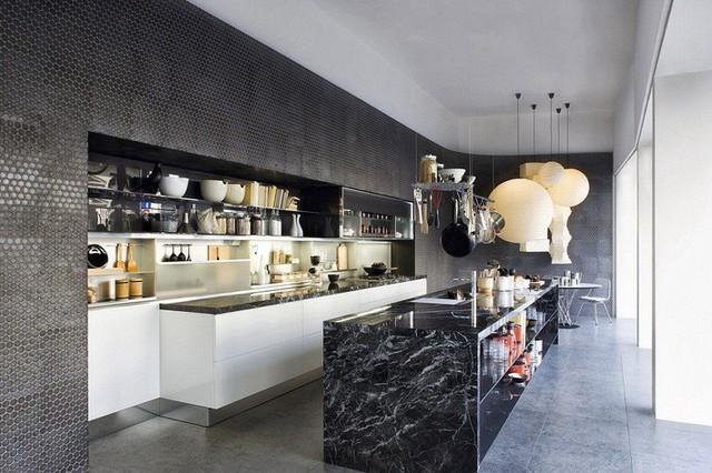 Muốn nhà bếp vừa đẹp vừa sang thì chọn ngay chất liệu đá cẩm thạch - Ảnh 7.